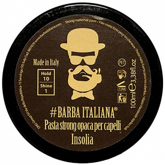 Barba Italiana Insolia Strong Matte Hair Paste